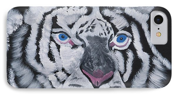 Jungle Eyes IPhone Case by Meryl Goudey