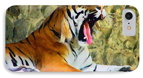 Tiger IPhone Case by Oleg Zavarzin