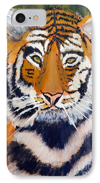 Tiger Phone Case by Pamela  Meredith