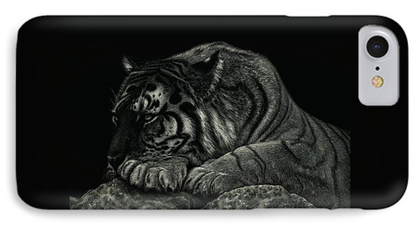 Tiger Power At Peace IPhone Case