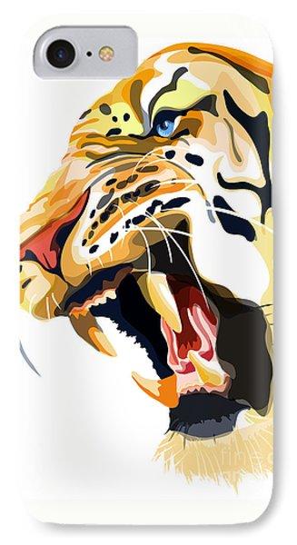 Tiger Roar IPhone Case