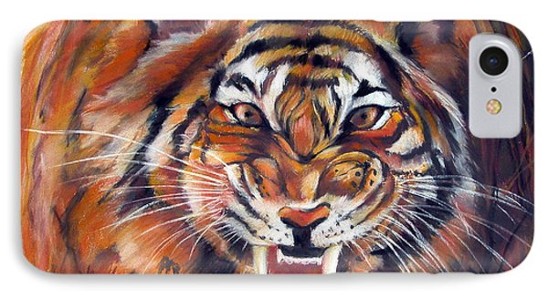 Tiger Roaring IPhone Case