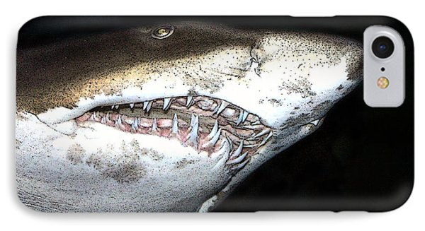 Tiger Shark IPhone Case by Sergey Lukashin