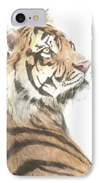Tiger Study IPhone Case