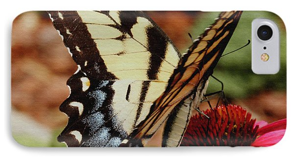 IPhone Case featuring the photograph Tiger Swallowtail  by James C Thomas