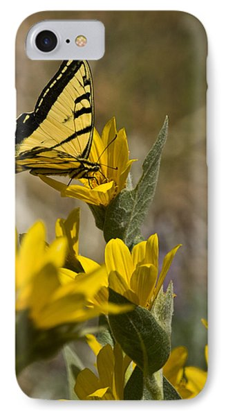 IPhone Case featuring the photograph Tiger Swallowtail Butterfly by Janis Knight