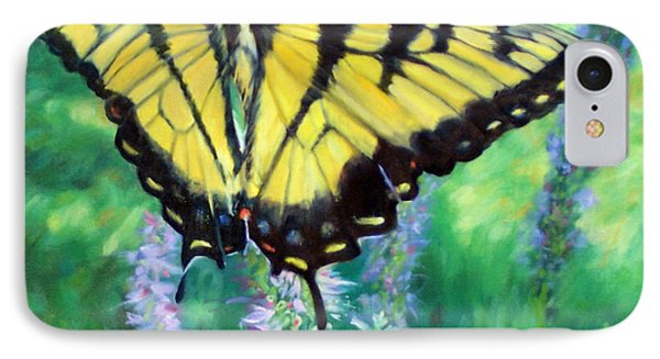 Tiger Swallowtail- Enjoying The Sweetness IPhone Case