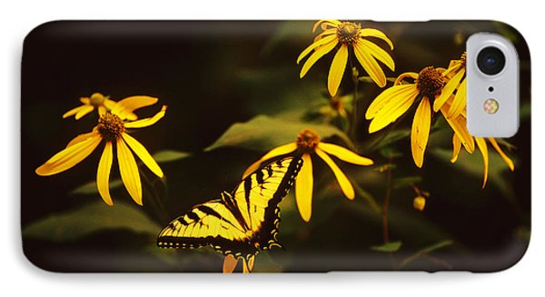 Tiger Swallowtail Perch  IPhone Case