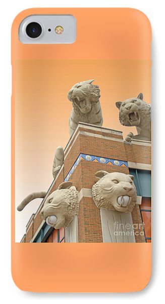 Tiger Town IPhone Case by Ann Horn