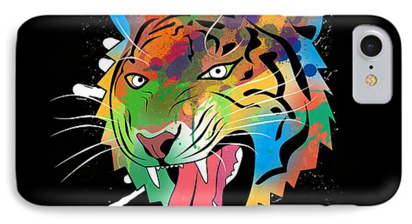 Tiger Vector  IPhone Case