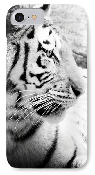 IPhone Case featuring the photograph Tiger Watch by Erika Weber