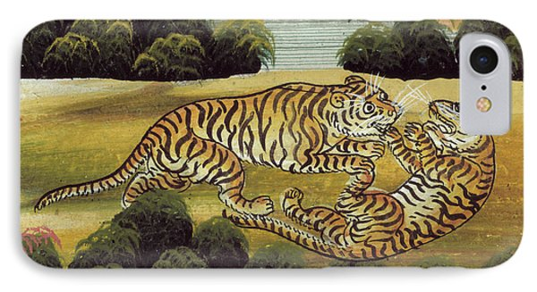 Tigers IPhone Case by British Library