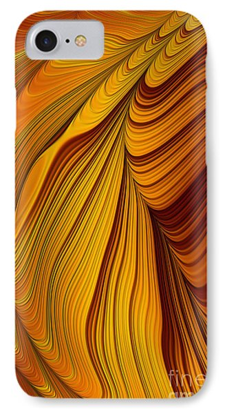 Tiger's Eye Abstract IPhone Case by John Edwards