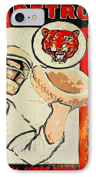 Tigers Score Book IPhone Case by John Farr
