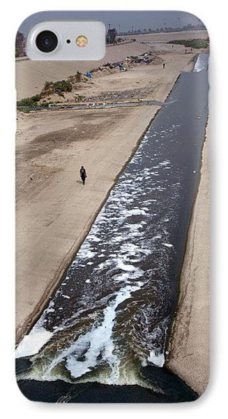 Tijuana River IPhone Case by Jim West