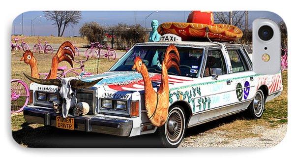 Tijuana Taxi IPhone Case by Pattie Calfy