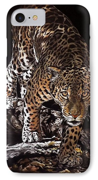 Tikal Out Of The Darkness IPhone Case by Linda Becker