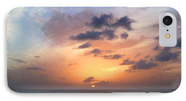 Tiki Beach Caribbean Sunset IPhone Case