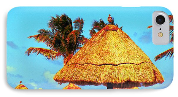 IPhone Case featuring the photograph Tiki Huts by J Anthony