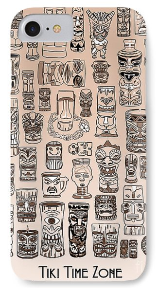Tiki Sand Zone IPhone Case by Megan Dirsa-DuBois