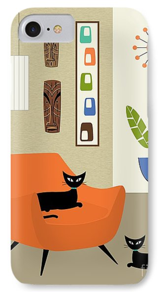 Tikis On The Wall IPhone Case