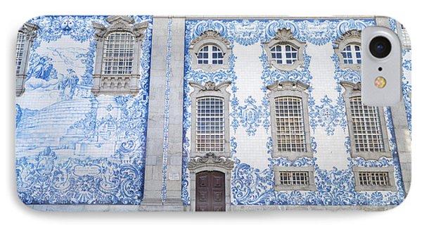 Tiled Church In Porto Portugal IPhone Case