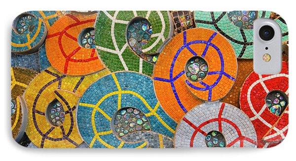 Tiled Swirls IPhone Case by Adam Romanowicz