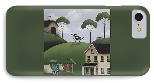 Till The Cows Come Home Phone Case by Catherine Holman