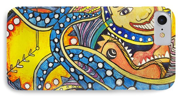 Tillies Funhouse Design Phone Case by Patricia Arroyo