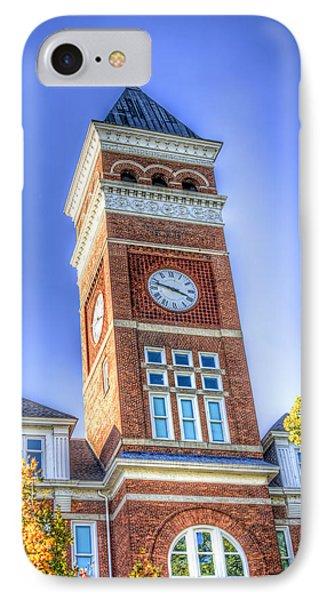 Tillman Clock Tower IPhone Case