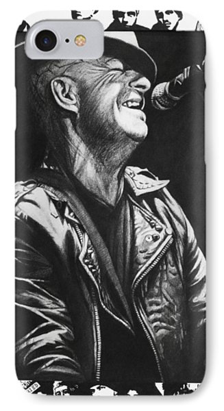 Tim Armstrong IPhone Case by Steve Hunter