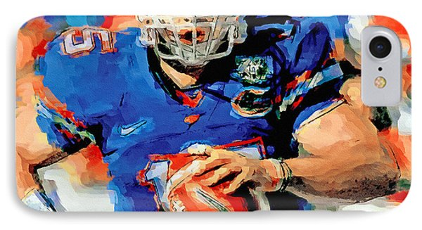 Tim Tebow Mr. Florida Gator IPhone Case