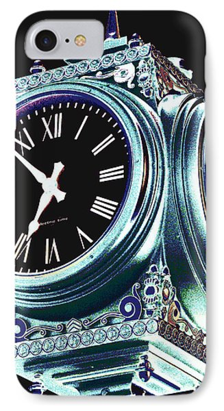 Time Phone Case by Colleen Kammerer
