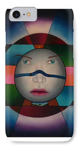 Time Face IPhone Case by Extranjerocus
