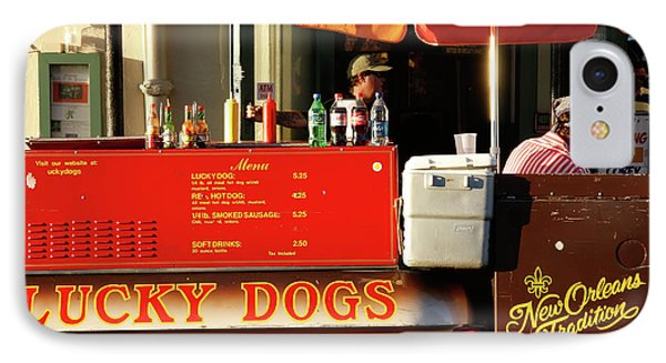 Time For A Lucky Dog IPhone Case by KG Thienemann