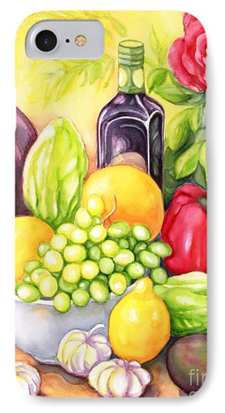 Time For Fruits And Vegetables IPhone Case by Inese Poga