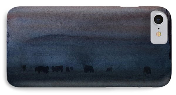Time For Grazing IPhone Case by Erica Hanel