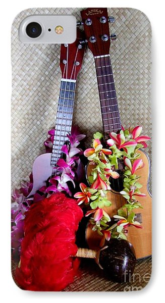 Time For Hula Phone Case by Mary Deal