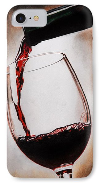 Time For Wine IPhone Case by Brian Broadway