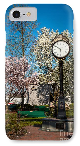 Time In Barnegat Phone Case by Bob and Nancy Kendrick