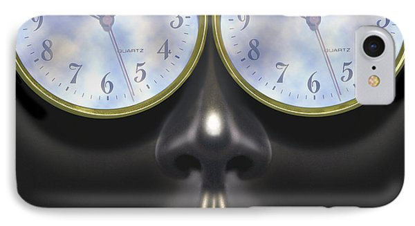 Time In Your Eyes - Sq IPhone Case by Mike McGlothlen
