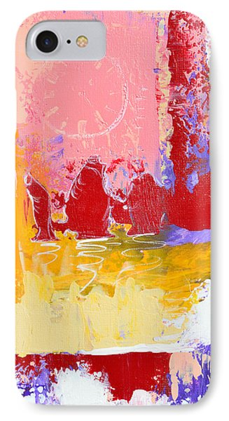 Time Is Fading Away Phone Case by Donna Blackhall