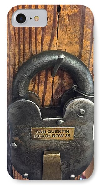 Time Lock San Quentin IPhone Case