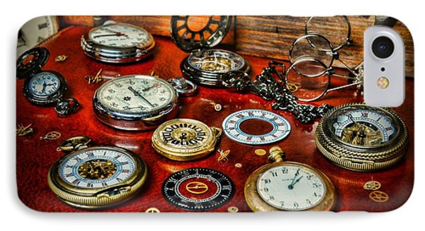 Time - Pocket Watches  IPhone Case