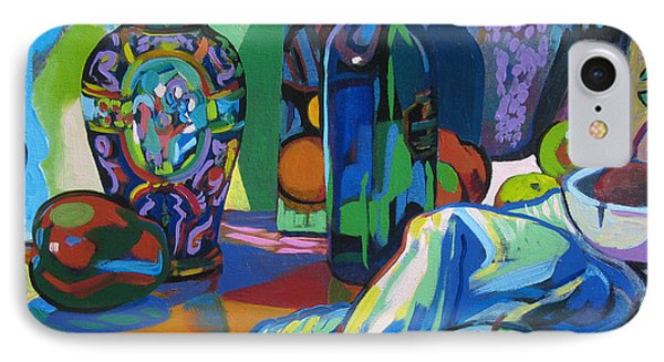 IPhone Case featuring the painting Time Regained by Clyde Semler