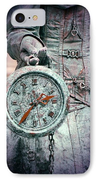 Time Time Time Phone Case by Jaroslaw Blaminsky