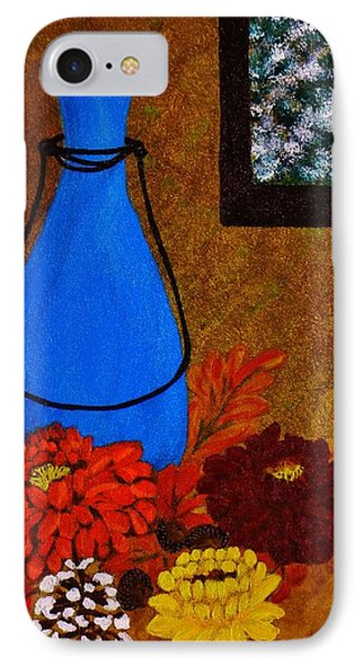 IPhone Case featuring the painting Time To Decorate by Celeste Manning