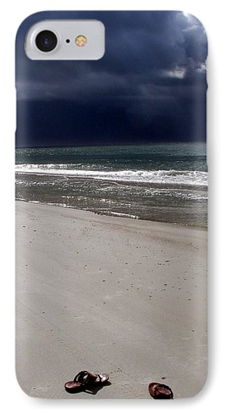 Time To Go Phone Case by Karen Wiles