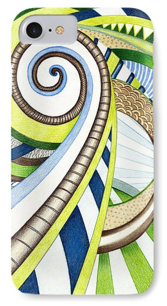 Time Travel IPhone Case by Shawna Rowe