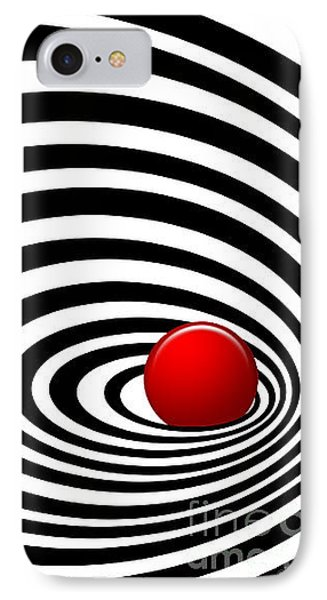 Time Tunnel Op Art IPhone Case